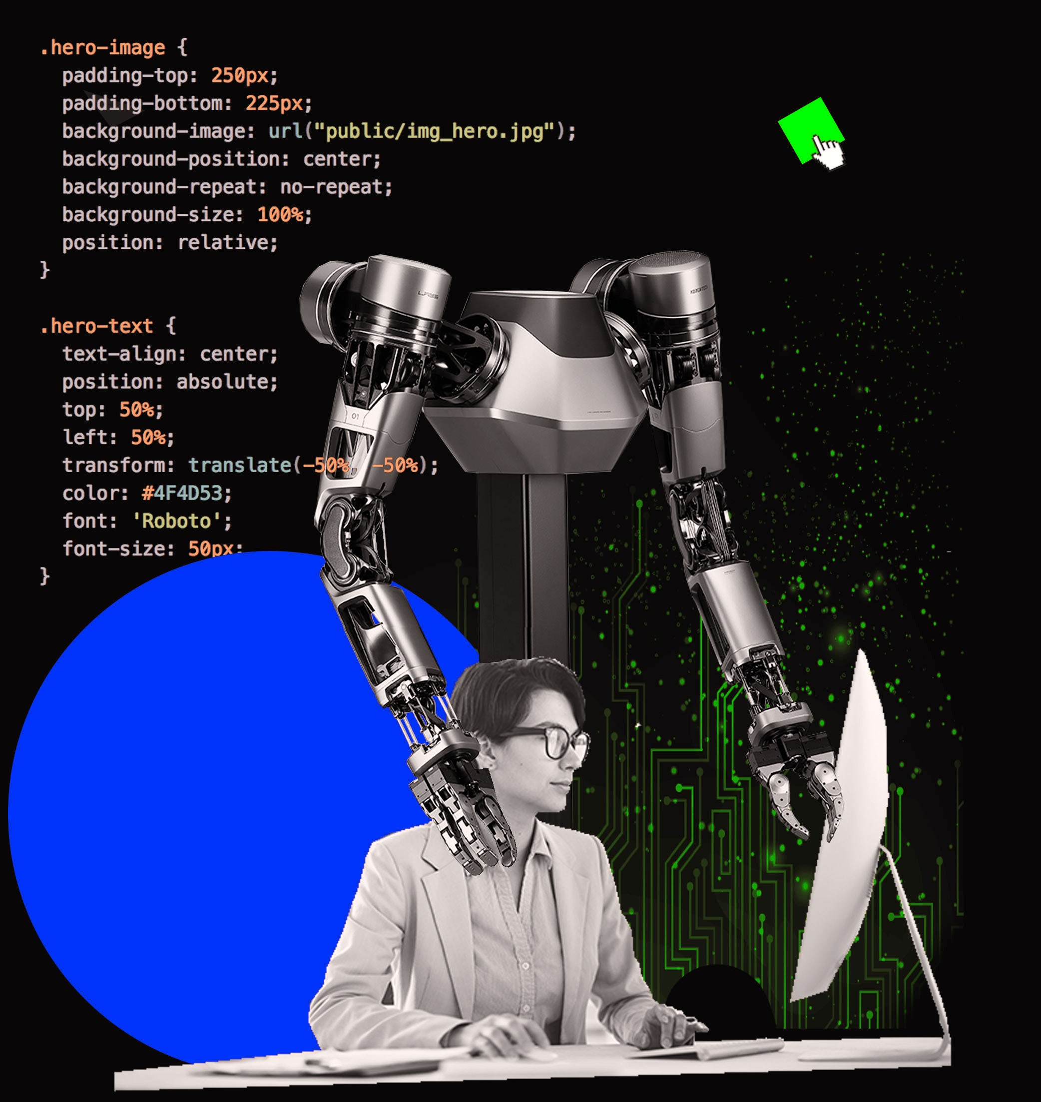 Robotics assisting banking processes