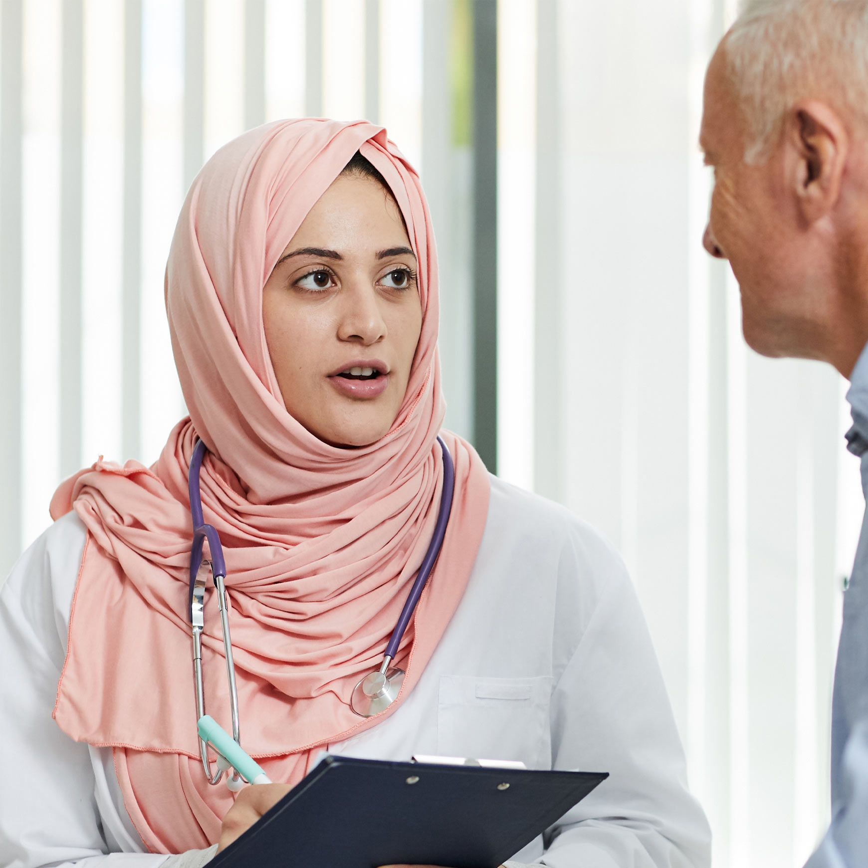 female doctor and patient in consultation